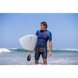 Boardshorts lang Surfen 900 Pure schwarz