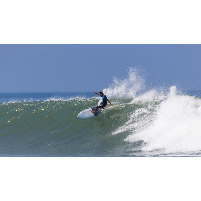 "Bañador Largo Surf Olaian 900 Pure Blanck Hombre Negro 20"""