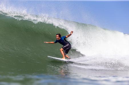 900 Long Surfing Boardshorts - Pure Black