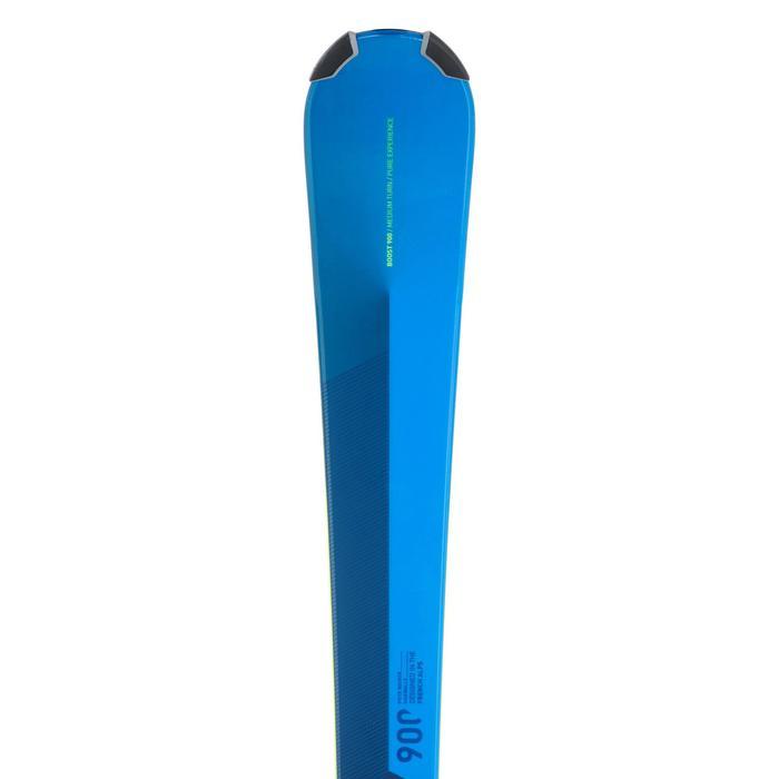 Pisteski's met binding voor kinderen Boost 900 blauw