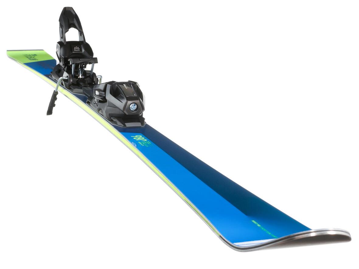 gli sci da pista