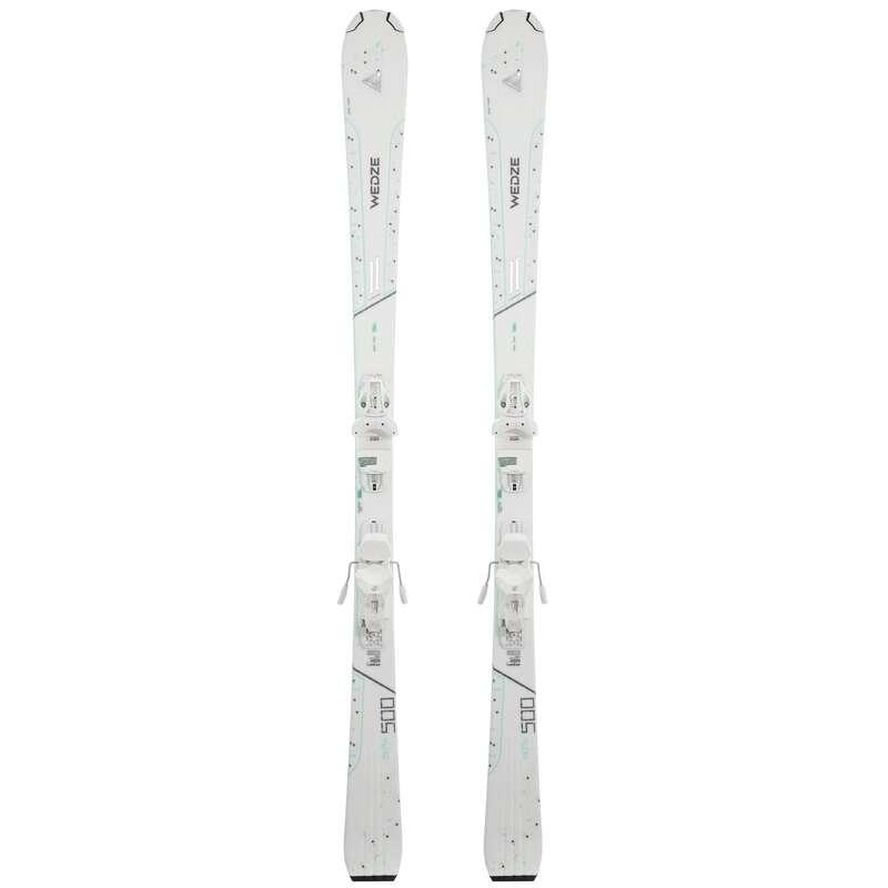 WOMEN'S SKIS OR POLES INTERMED. SKIERS Schi si Snowboard - Schiuri ADIX 500 Damă WED'ZE - Schiuri, clapari, bete
