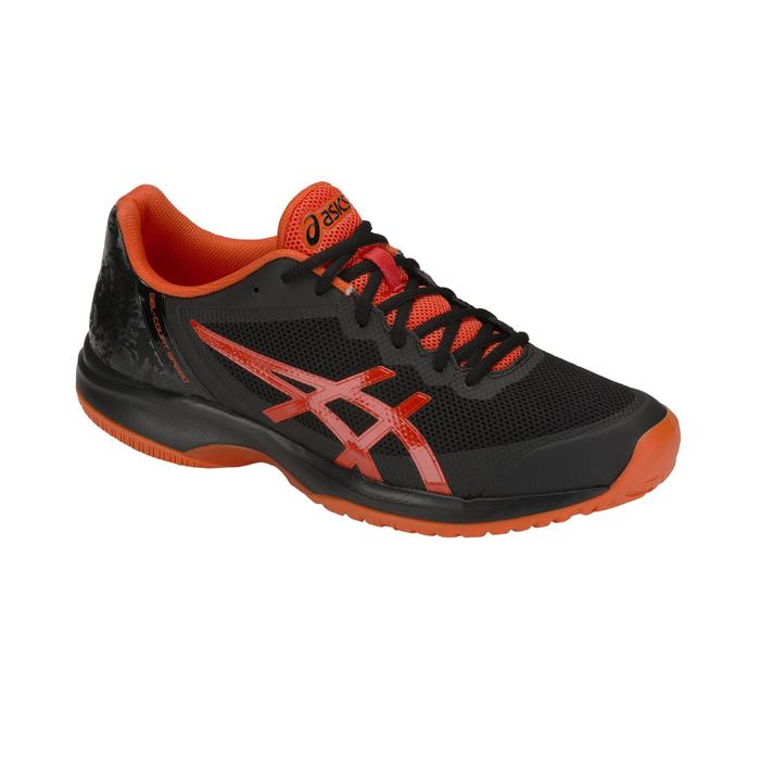 CHAUSSURES DE TENNIS HOMME COURT SPEED NOIR ORANGE MULTI COURT