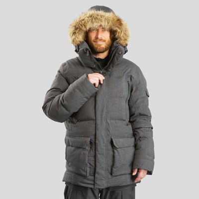 Men's Arctic Trekking Parka 100 - Black