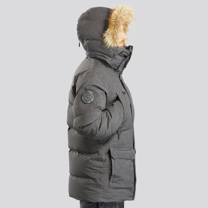 Parka Arctic Trekking 100 schwarz