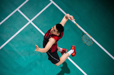 badminton boost metabolism