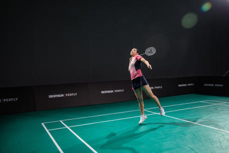 advantages of playing badminton- flexibility