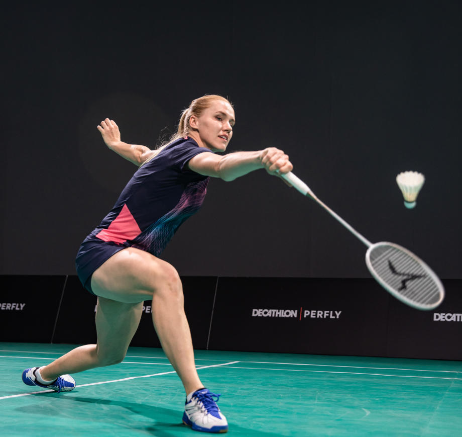 backhand badminton smash technique