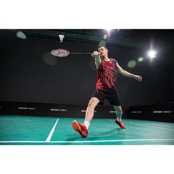 Raquette de Badminton Adulte BR 990 P - Rouge/Orange