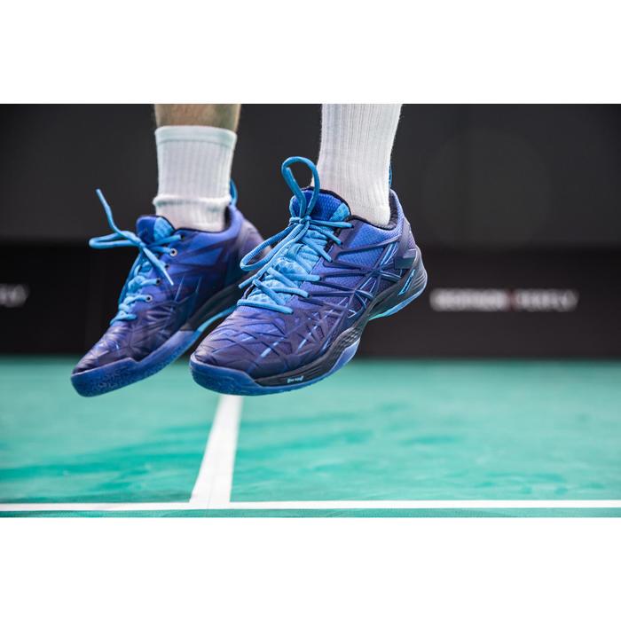 Raquette De Badminton Adulte BR 930 V - Bleu/Or