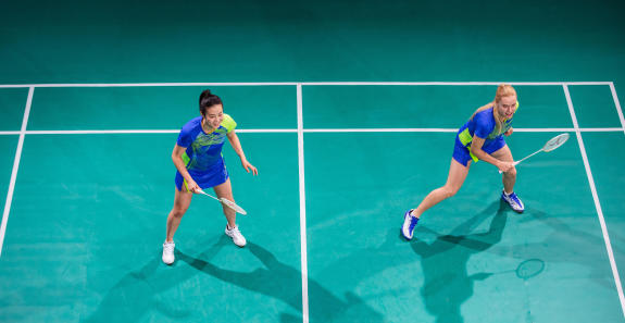 rules for badminton game