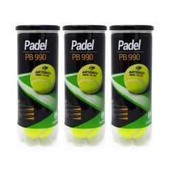 Padelbälle PB990 3 Stück