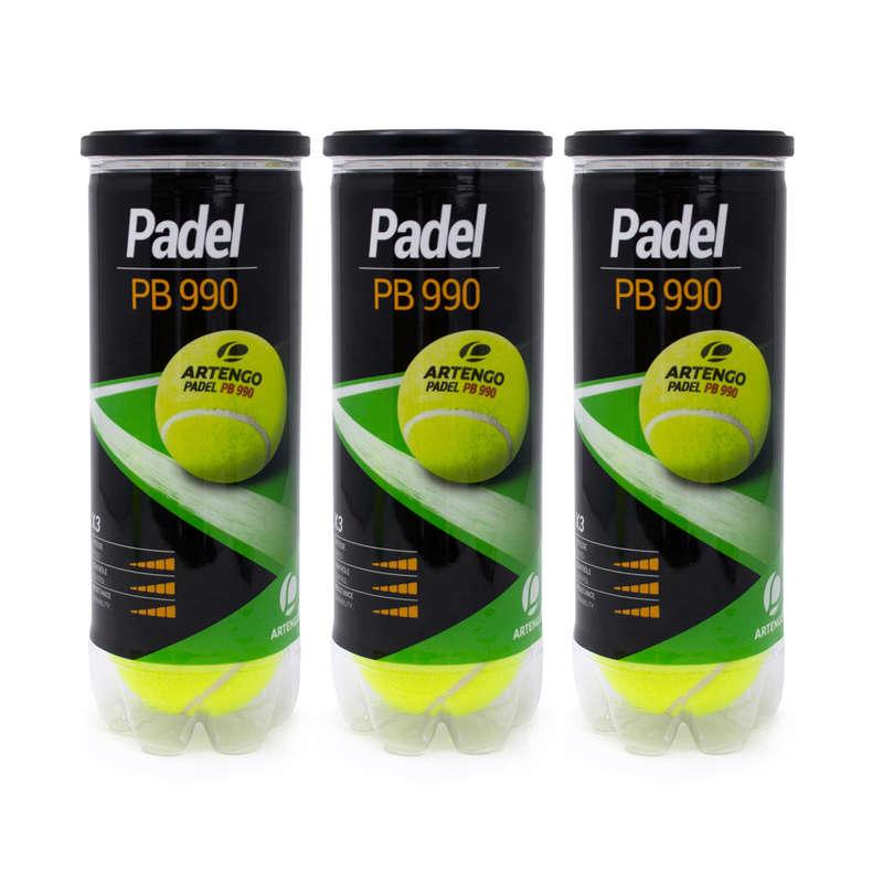 BOLAS PADEL Padel - BOLA PADEL PB990 TRIPACK ARTENGO - Raquetes de Padel