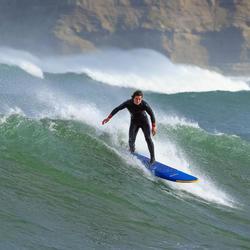 Neoprenanzug Surf 500 4/3mm Herren marineblau