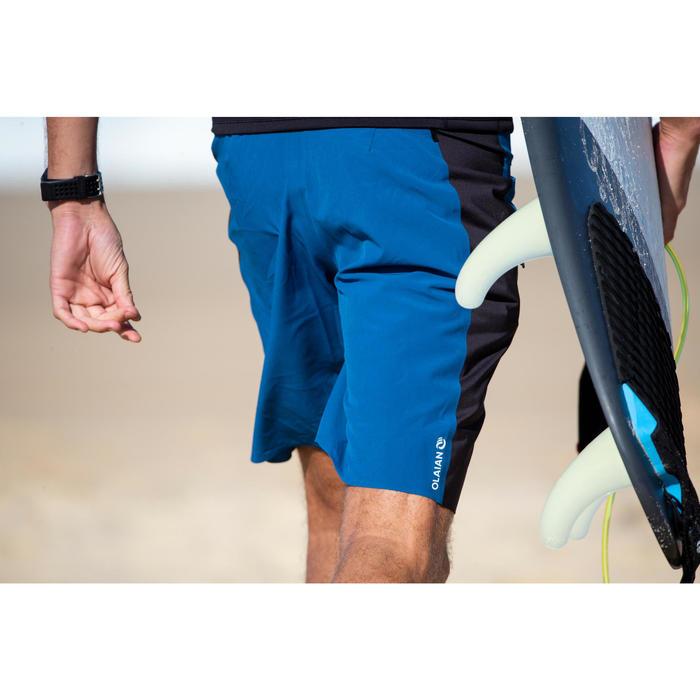 "Bañador Largo Surf Olaian 950L Solid Hombre Marino Negro 20"""