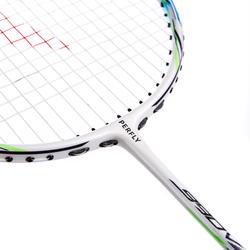 Raquette de badminton adulte BR990 - blanc/blleu