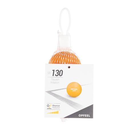 SB 130 Beginner Squash Ball Twin-Pack - Orange
