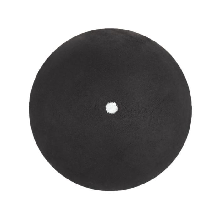 Squashbälle SB 590 2er-Pack weißer Punkt