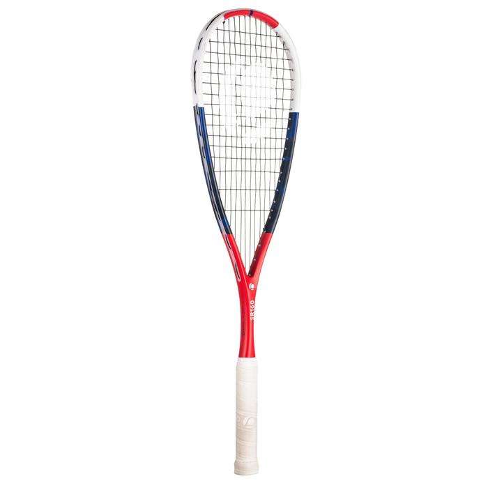SET RAQUETTE DE SQUASH SR 160 (Raquette SR160, Housse, Balle SB560 point rouge)