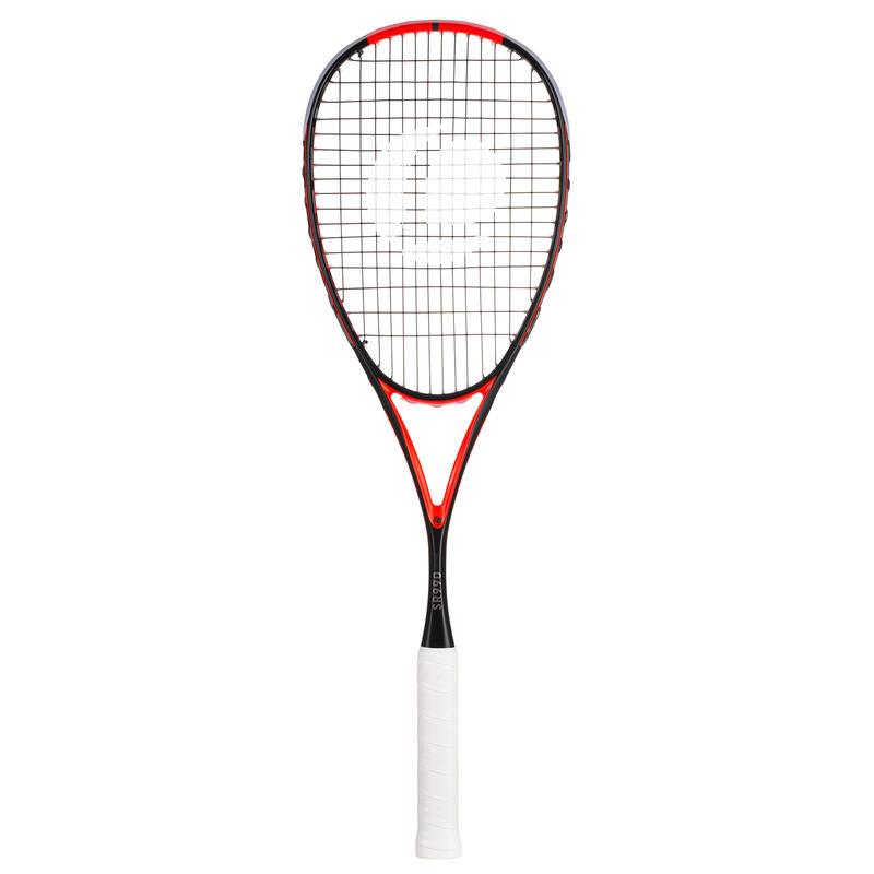 Raqueta Squash Opfeel SR 990 Control - 120 g Adulto Negro/Coral
