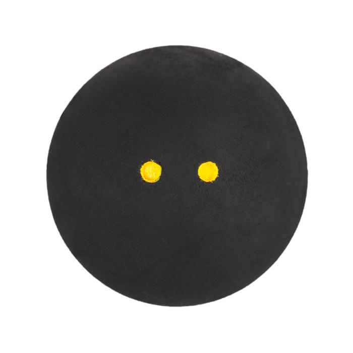 Squashbal SB 990 x1 dubbele gele stip