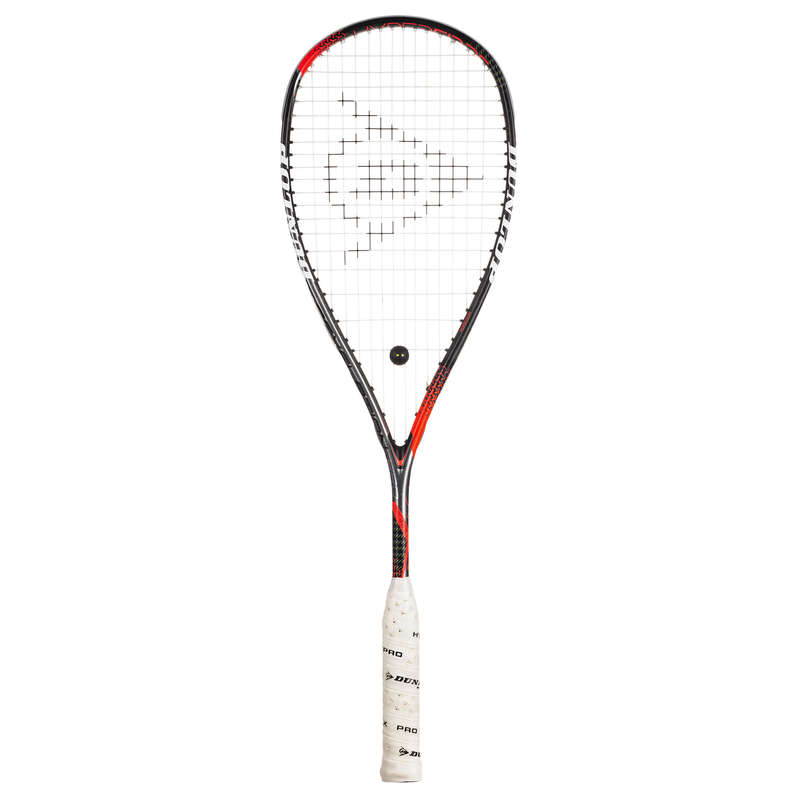 SQUASHRACKET Racketsport - HYPERFIBRE REVELATION PRO 2018 DUNLOP - Squashutrustning