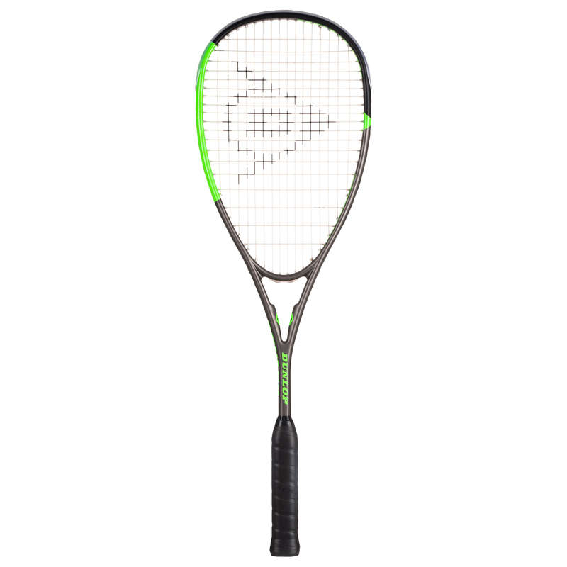 FELNŐTT FALLABDA FELSZERELÉSEK Squash, padel - Squash ütő Blackstorm Graphite DUNLOP - Squash, padel