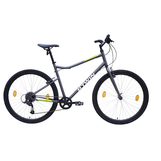 Hybrid cycle Riverside 120 Grey Yellow.