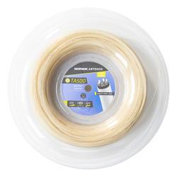 Tennissaite TA500 Komfort 1,24mm Multifaser 200 m Rolle braun