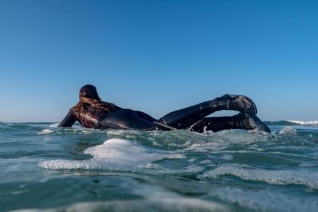 Chaussons Surf 500 Bottillons Néoprène 3 mm noir