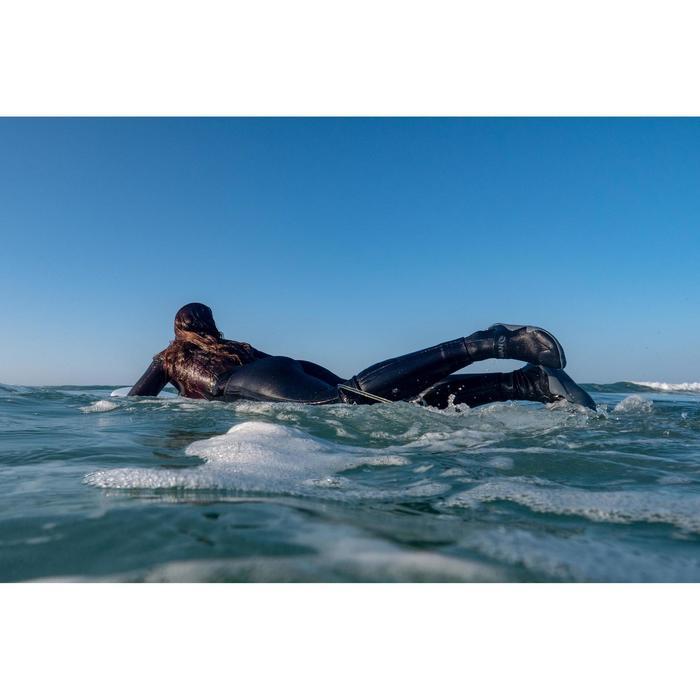Hoge surfschoenen 500 3 mm zwart