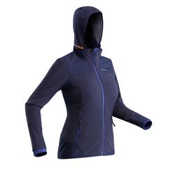Women's Snow Hiking Fleece SH500 X-Warm - Blue