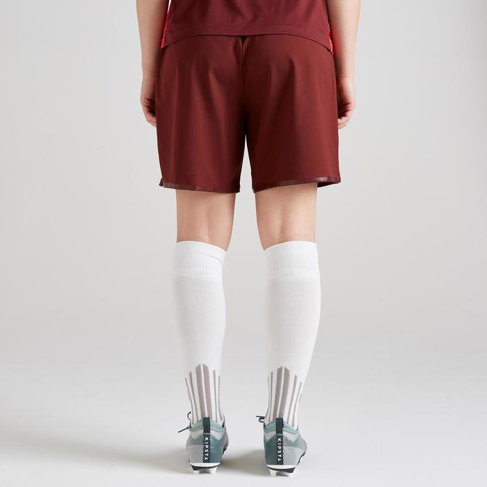 Short de football femme F500 bourgogne
