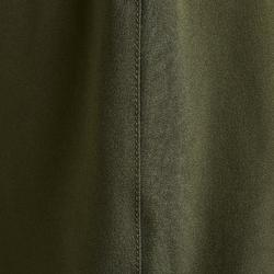 Fußballhose F500 Damen bronzegrün