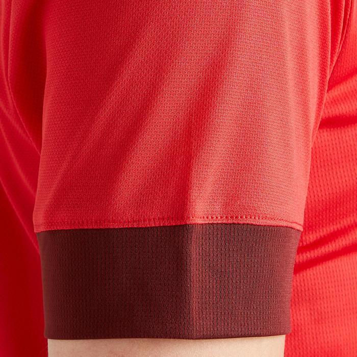 Maillot de football femme rouge bordeaux