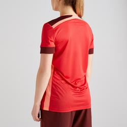 Maillot de football femme rouge bordeaux