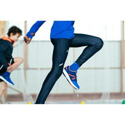 Atletiekbroek voor kinderen AT 100 grijs