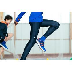 Collant athlétisme AT100 enfant gris abysse