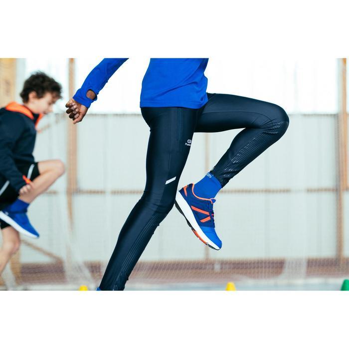 Mallas Térmicas Atletismo Kalenji AT100 Niños Gris