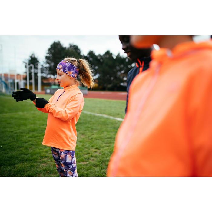 Gants Athlétisme enfant sans couture noir