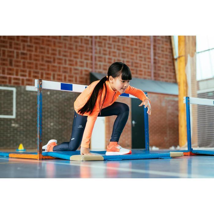 Atletiekschoenen voor kinderen AT Easy rood/grijs
