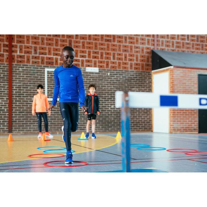Camiseta Manga Larga Atletismo Kalenji Skincare Niños Azul