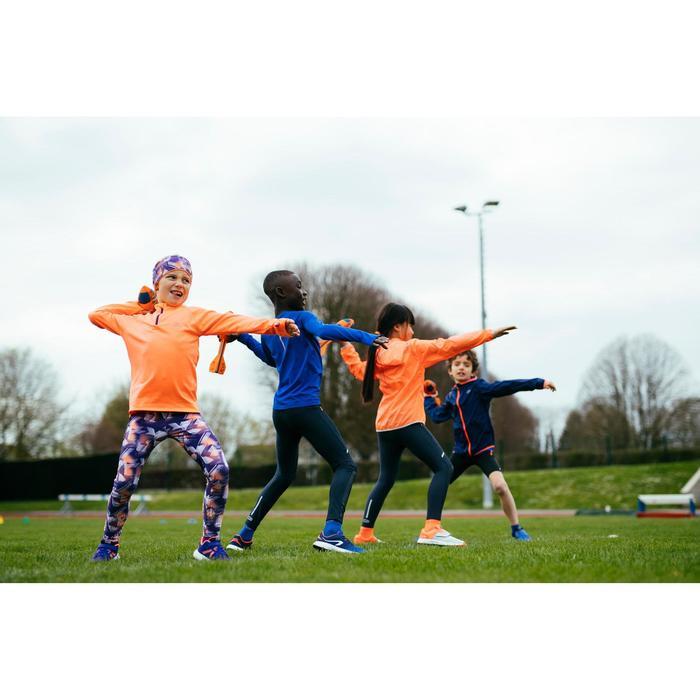 Hardloopschoenen kinderen Run Support klittenband paars/koraalrood