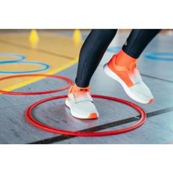Laufschuhe AT Easy Leichtathletik Kinder rot/grau