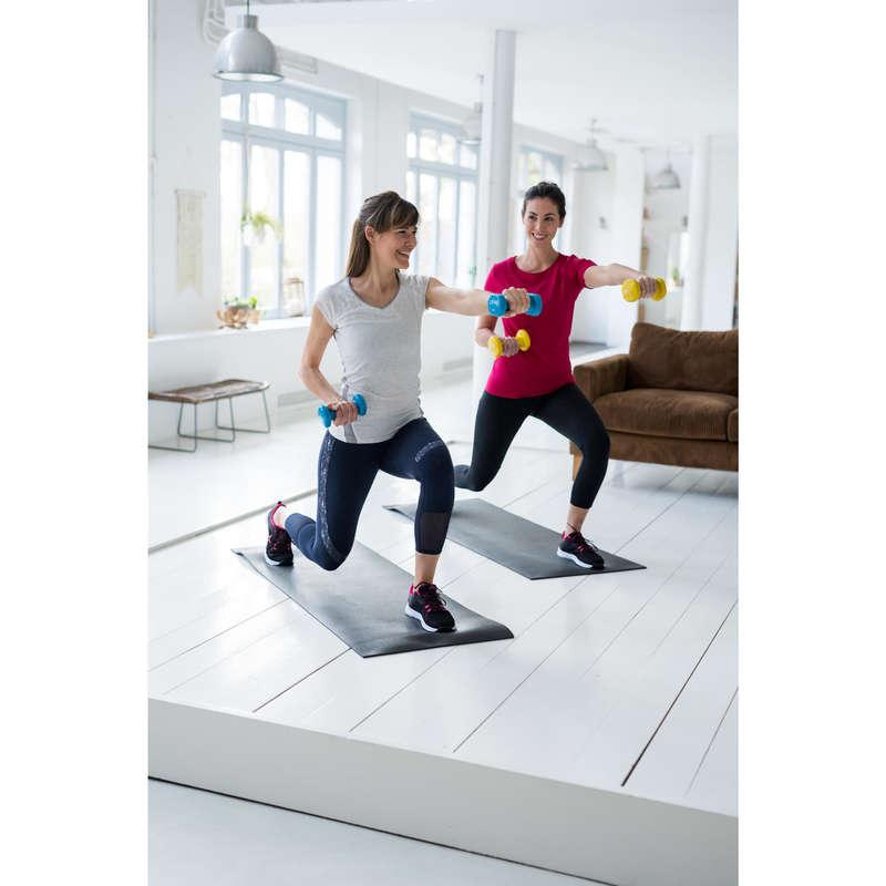 SMÅUTRUSTNING FÖR TONING Pilates - Hantel GYMWEIGHT 2 KG 2 st NYAMBA - Pilates