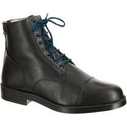 Schoenveters eendenblauw