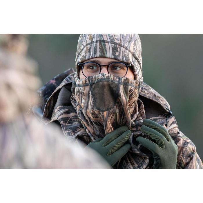 Rundschal warm 500 Camouflage Schilf