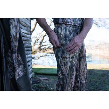 Pantalón Interior Caza Solognac 500 Calido Camuflaje Marismas