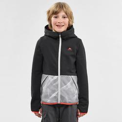 Chaqueta polar montaña niños 7- 15 años MH500 negro gris