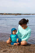 KOSTIUMY KĄPIELOWE DLA MALUCHÓW Pływanie - Krótki kombinezon UV Baby OLAIAN - Pływanie